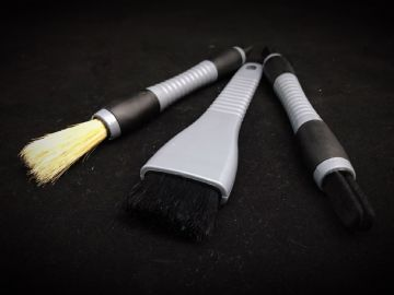 3pc Interior Brush Set